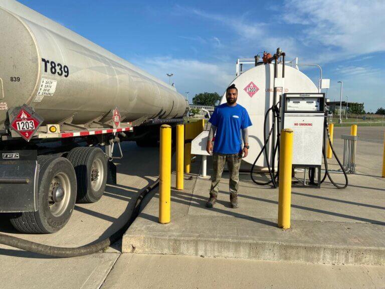 Wholesale fuel distributor